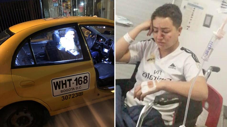 Taxista da paliza a mujer por orientación sexual y cuestionar tarifa: