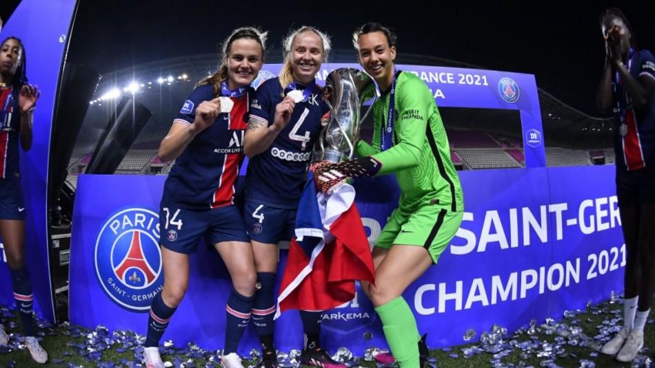 [FOTOS] ¡Christiane Endler hace historia! se coronó campeona en Francia con el PSG