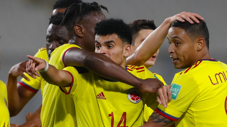 Colombia celebró ante Perú por Eliminatorias.