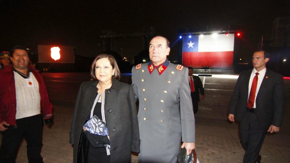 Fraude en el Ejército: fijan fecha para formalizar a esposa de Fuente-Alba por lavado de dinero
