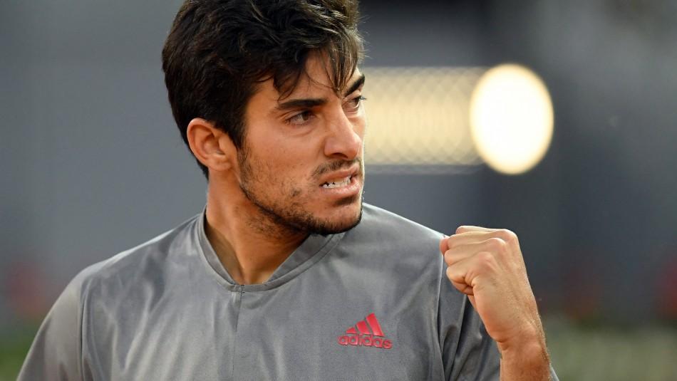 Cristian Garin hace historia y se clasifica a los octavos de final de Roland Garros