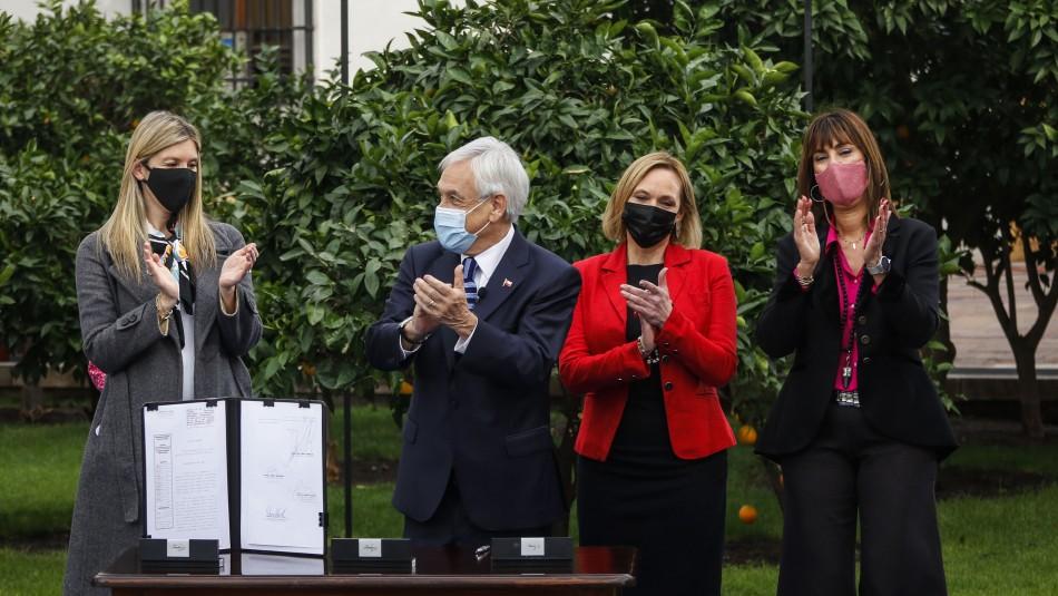 Piñera promulga postnatal de emergencia: