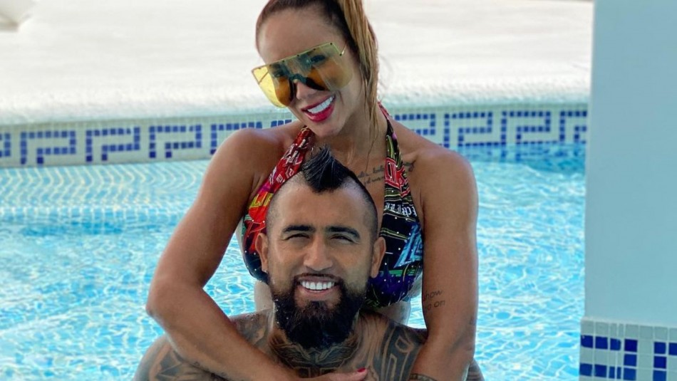 Sonia Isaza muestra romántica foto junto a Arturo Vidal en medio de rumores de infidelidad