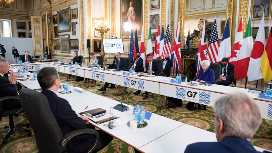 G7 espera anunciar acuerdo de impuesto mínimo mundial a grandes multinacionales
