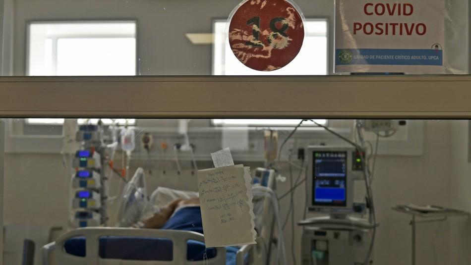 Coronavirus en Chile: Quedan disponibles 167 camas UCI a nivel nacional