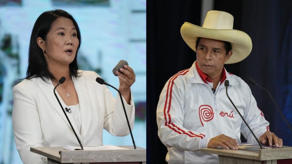 Perú elige presidente entre la derechista Keiko Fujimori y el izquierdista Pedro Castillo