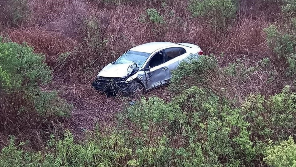 Hombre volcó con su auto, intentó pedir ayuda y murió atropellado en la ruta