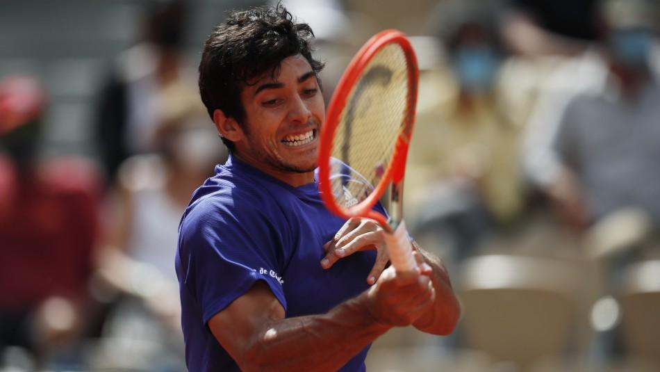 Se acabó el sueño de Cristián Garín en Roland Garros: Perdió en tres sets ante el ruso Medvedev