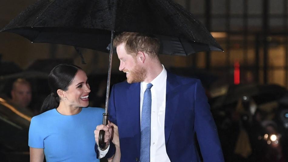 Reina Isabel II y familia real por hija de Harry y Meghan: