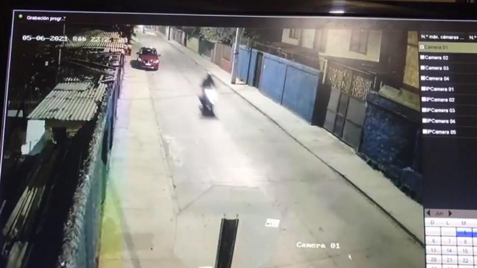 Motociclista fallece tras impactar con vehículo particular en comuna de San Miguel