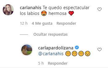 Respuesta de Carla Pardo
