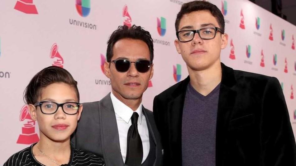 Las fotos inéditas de Marc Anthony en la graduación de su hijo menor con Dayanara Torres