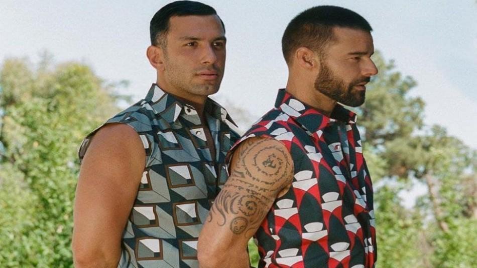 Las fotos de la escapada romántica a la playa de Ricky Martin y su marido en Hawái