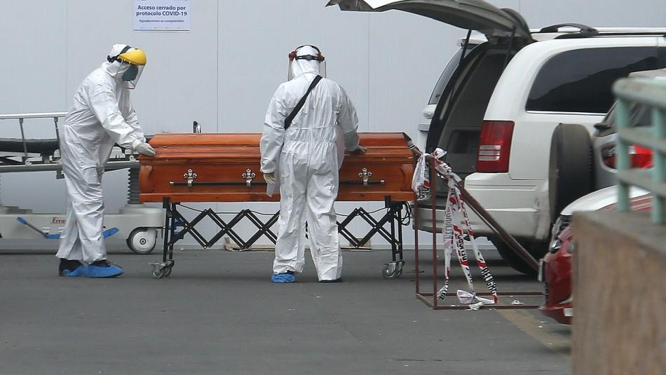Chile entre los 15 países con más muertes por millón de habitantes por Covid en últimos 7 días