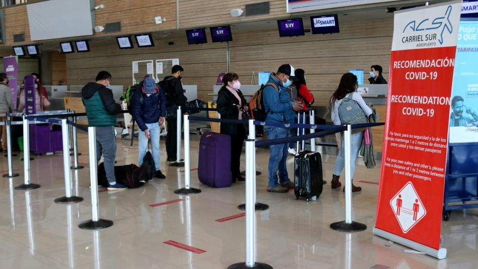 Gobierno extiende por todo junio el cierre total de fronteras en Chile.