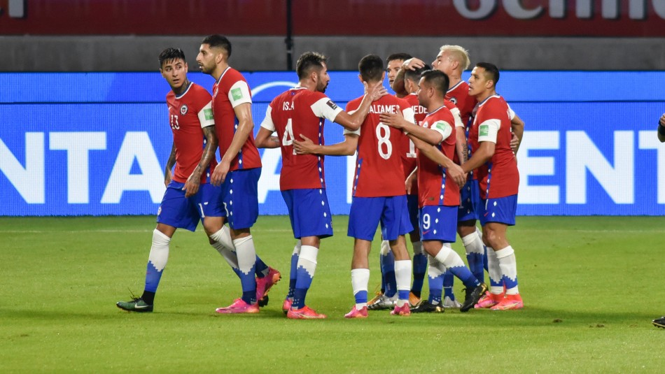 La Roja va por el triunfo ante Bolivia.