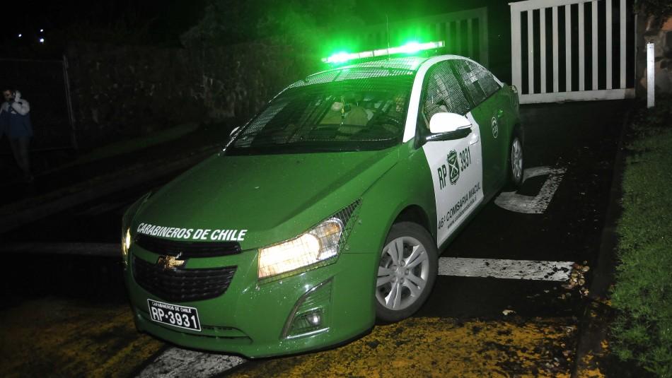 Delincuentes roban automóvil adaptado para persona con movilidad reducida en Ñuñoa