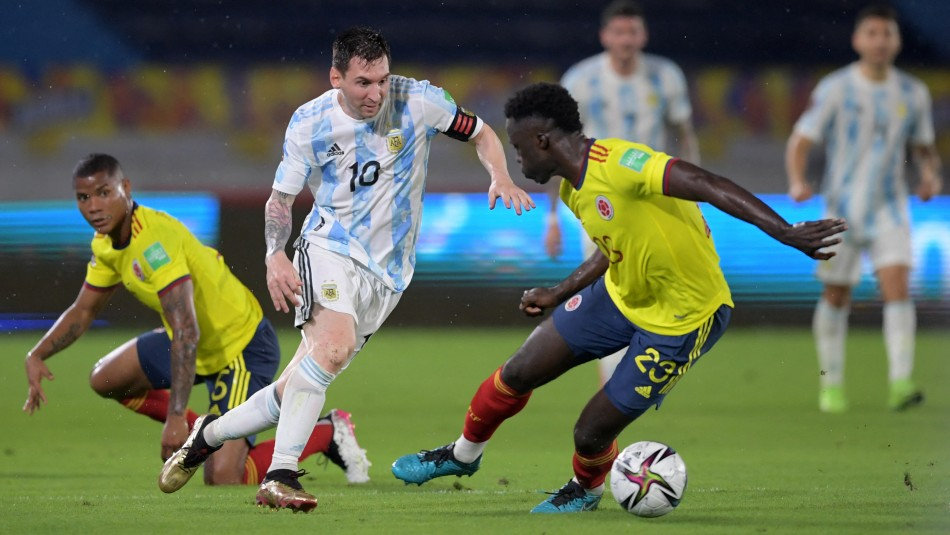 Colombia empata en la agonía en casa frente a Argentina