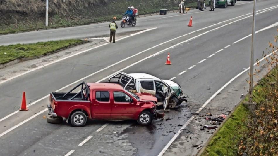 Fatal accidente en Puerto Octay.