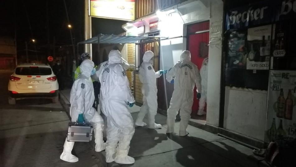 Encuentran a dos hombres muertos al interior de un cité en Calama