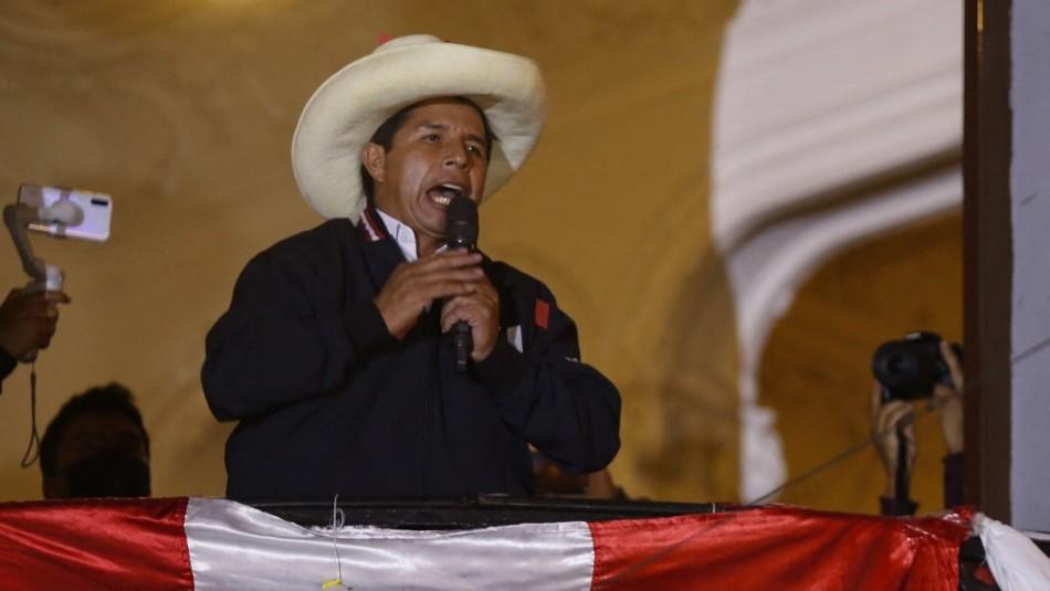 Elecciones en Perú: Pedro Castillo se declara victorioso antes de finalizar los votos