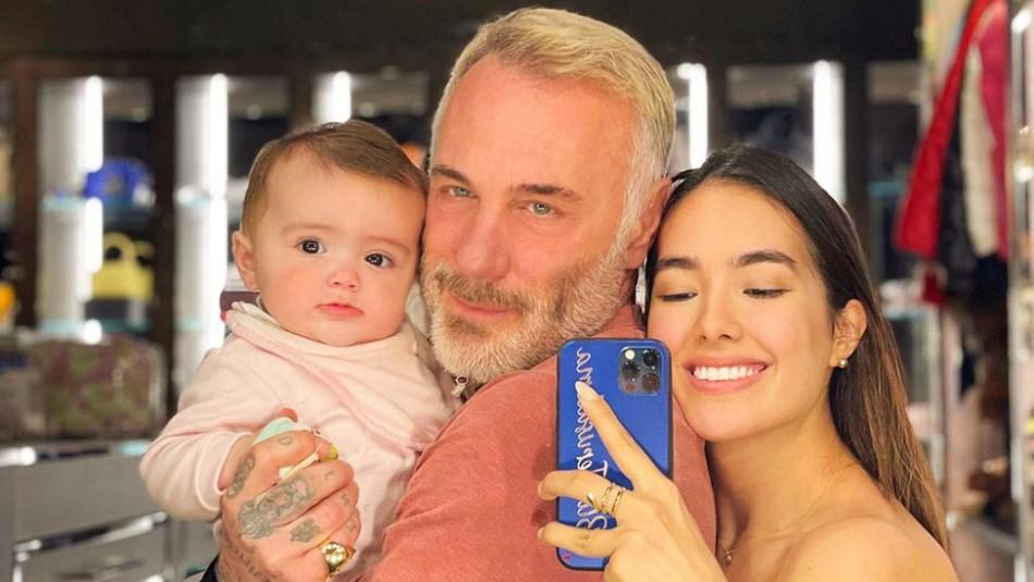 Como una princesa: Así es la lujosa vajilla de la hija de Sharon Fonseca y Gianluca Vacchi