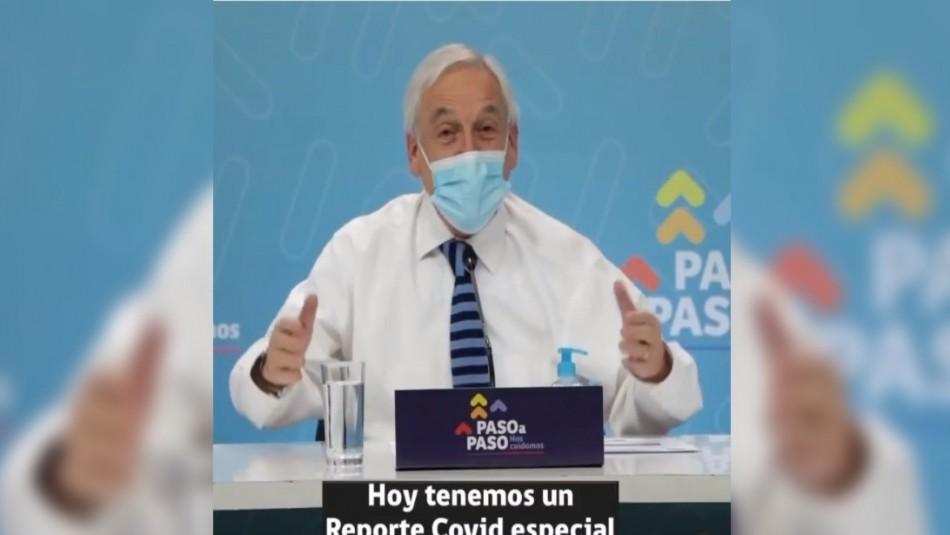Piñera confirma fecha del inicio de la vacunación para jóvenes entre 12 y 17 años