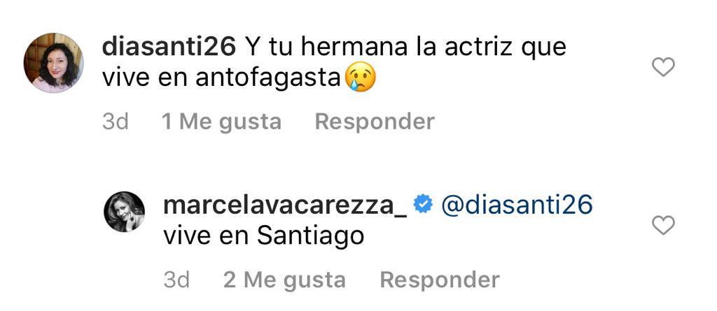 El comentario de Marcela Vacarezza por su hermana Adriana