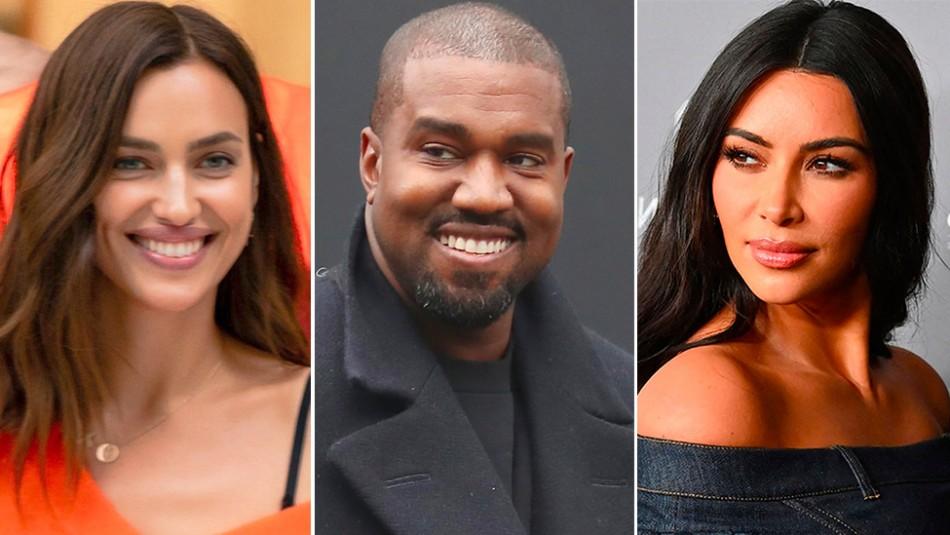 Las primeras fotos de Kanye West e Irina Shayk juntos: Kim Kardashian dice estar feliz