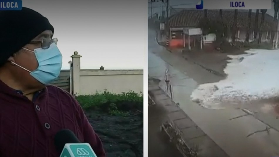 Fuertes marejadas afectan a Iloca.