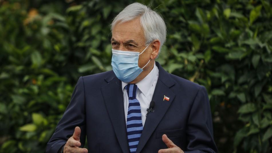 Presidente Piñera posterga gira a Europa por razones sanitarias