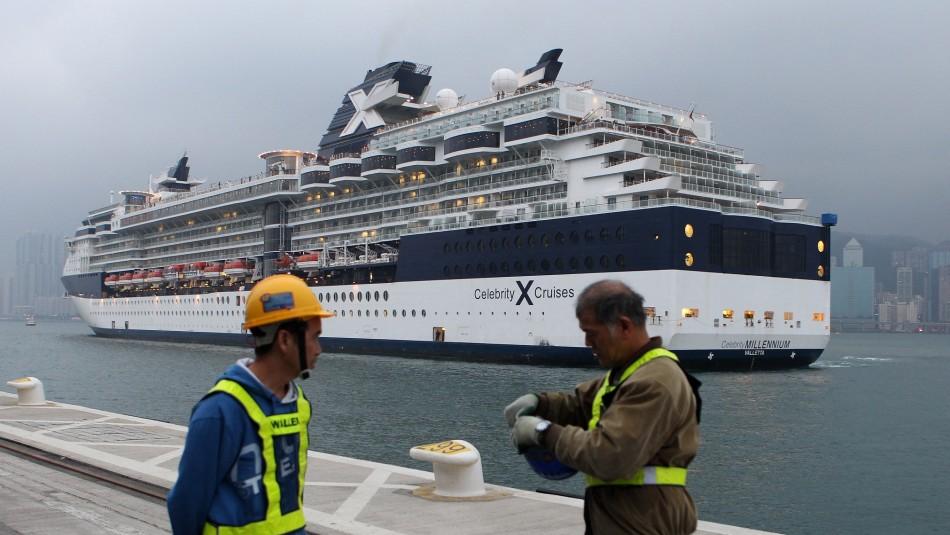 Dos casos de coronavirus en primer crucero en Norteamérica desde la suspensión por pandemia