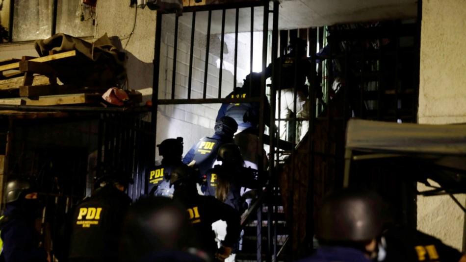 Más de 20 detenidos deja amplio operativo PDI contra bandas criminales de Lo Barnechea