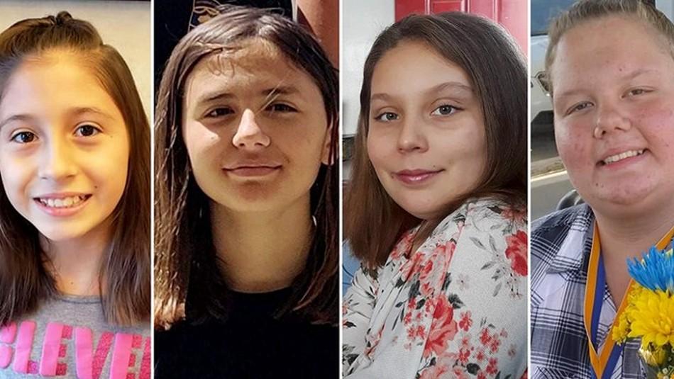 Tres niñas asesinadas y una en estado crítico tras ser arrolladas: Conductor se dio a la fuga