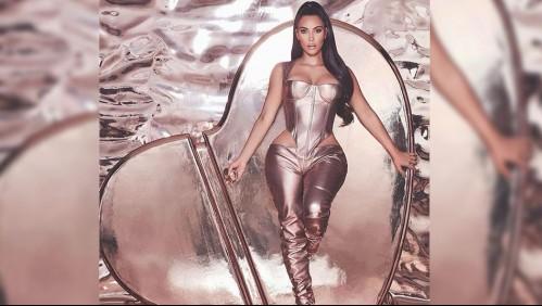Acusan a Kim Kardashian de distorsionar su figura en un video: La llaman