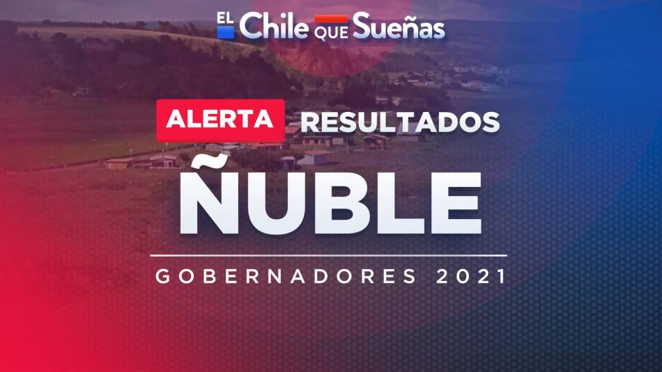 Segunda vuelta gobernadores: Resultados minuto a minuto de la región de Ñuble