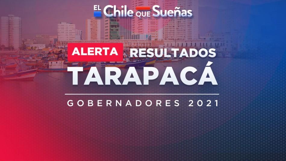 Segunda vuelta gobernadores: Resultados minuto a minuto de la región de Tarapacá