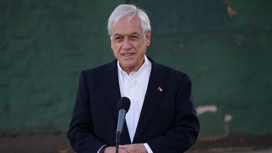 Con críticas a Daniel Jadue: Presidente Piñera emitió voto en elección de Gobernadores