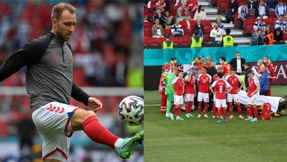 Eriksen publica en Instagram su primera foto tras paro cardiaco en Eurocopa: