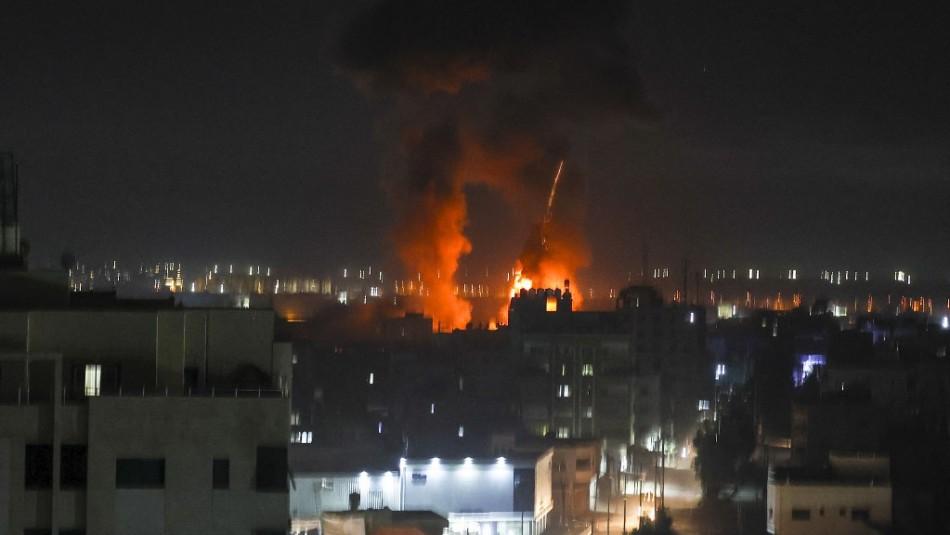 Israel lanza ataques aéreos en Gaza según informes de seguridad palestinas