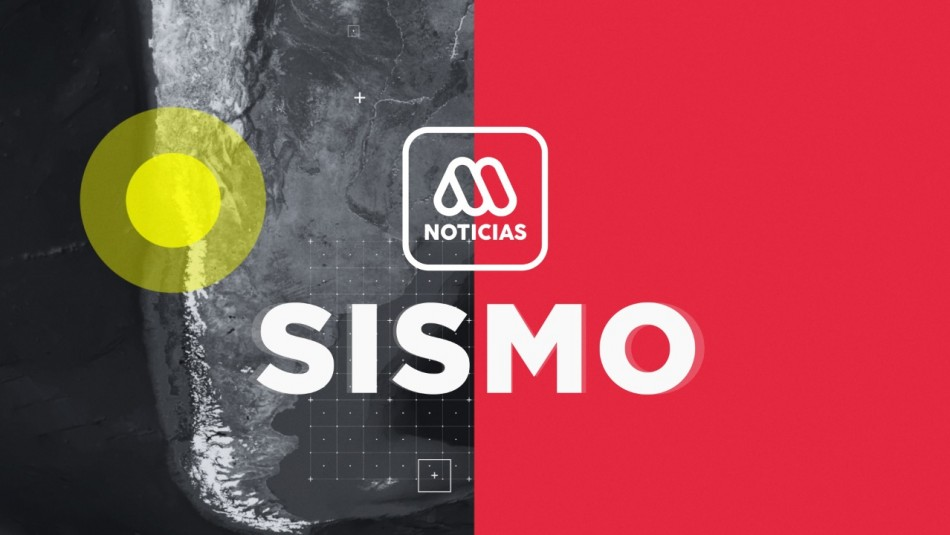 Temblor se registra en la región del Biobío
