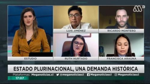 Mesa Constituyente: Luis Jiménez, Ricardo Montero, Ruth Hurtado, Francisca Arauna