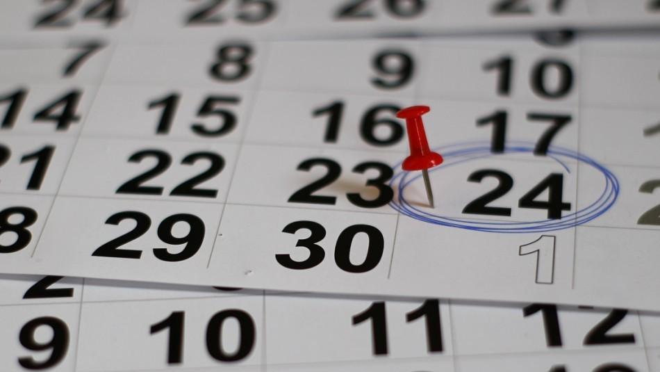 ¿Habrá un nuevo fin de semana largo? Revisa la lista de feriados que quedan en 2021