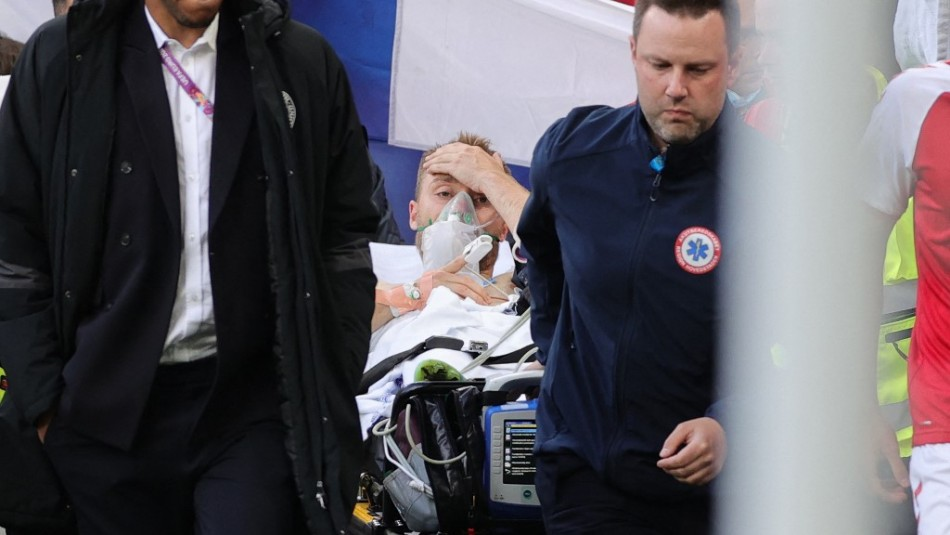 Tras desplomarse en la cancha: Eriksen será operado y se le implantará desfibrilador automático