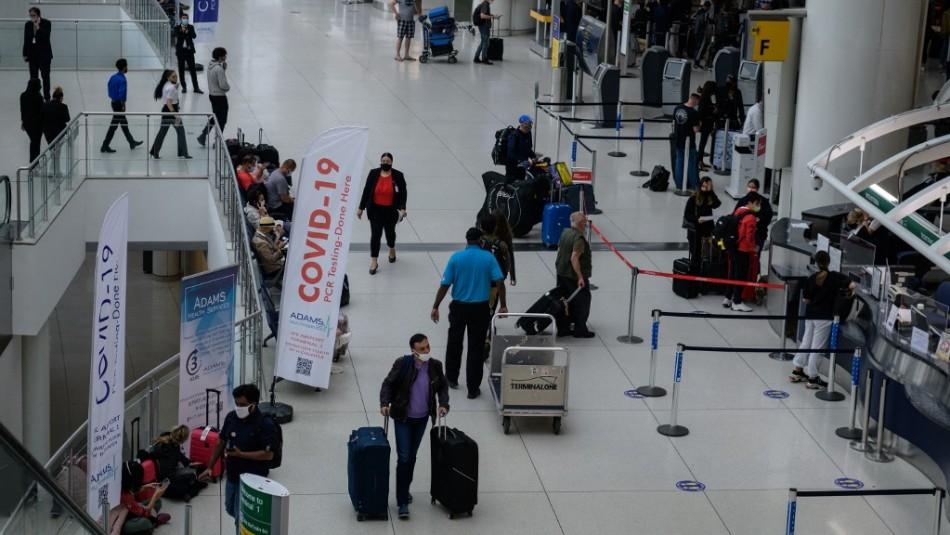 Estados Unidos llama a no viajar a Chile por