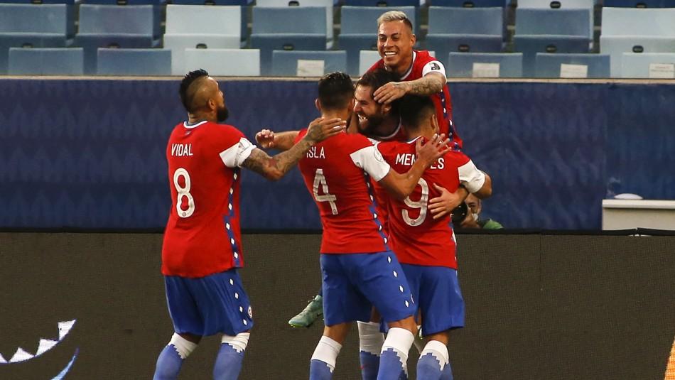 Chile vence a Bolivia con gol de Brereton y escala a la cima de su grupo en Copa América 2021