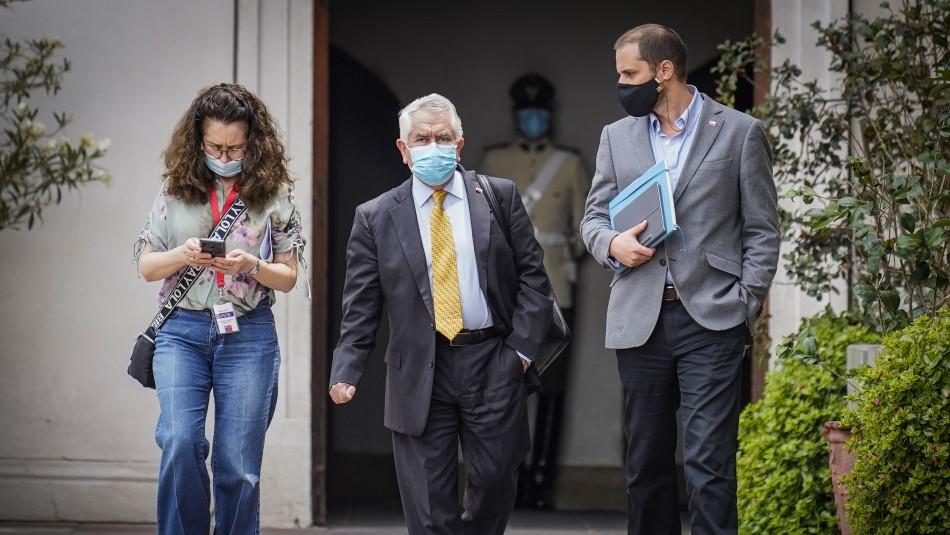 Educación, vacunación y salud mental: Gobierno tuvo reunión clave con gremios en La Moneda