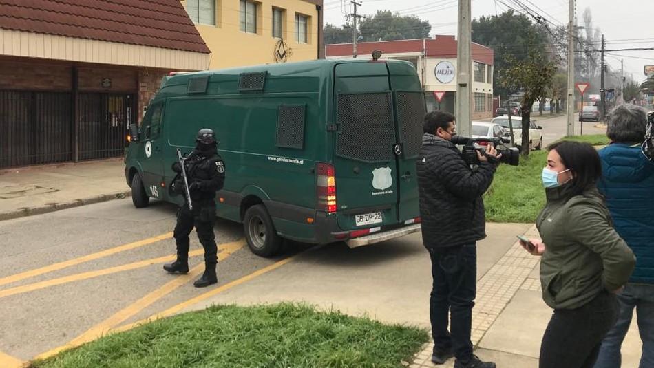 Secuestro y torturas en Collipulli: Juzgado de Garantía amplió la detención de 5 imputados
