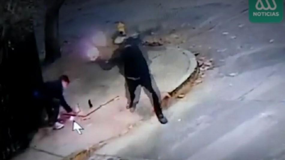 Vecino denuncia que desconocidos lo acosan con bombas molotov y disparos: