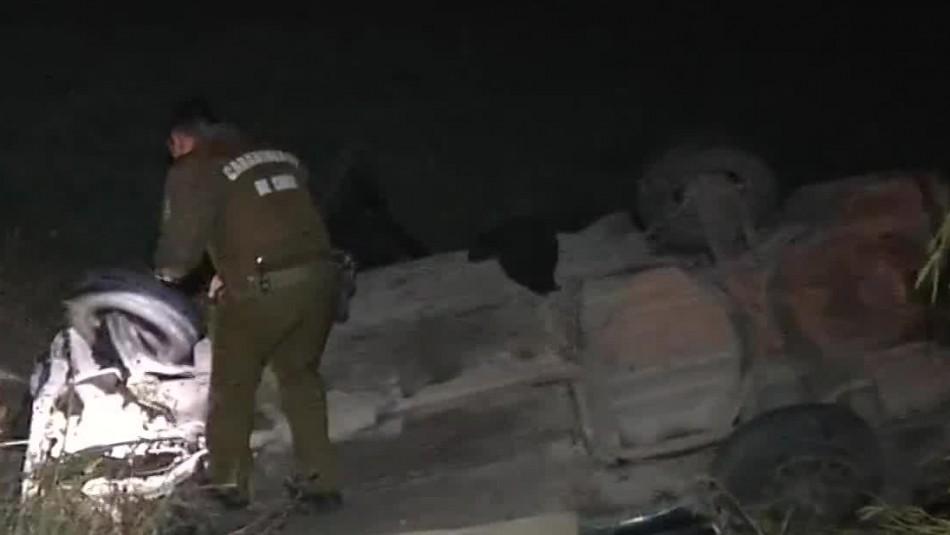 Accidente de tránsito dejó un fallecido en la comuna de Pudahuel